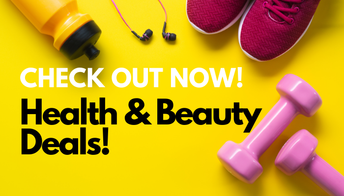 Concerned About Your Health & Beauty? Check Out These 9 Deals Now!